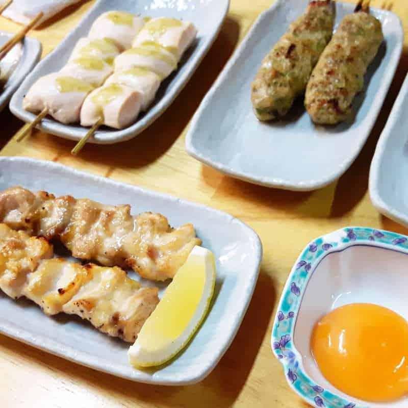 Yakitori – Hähnchenspieße vom Grill