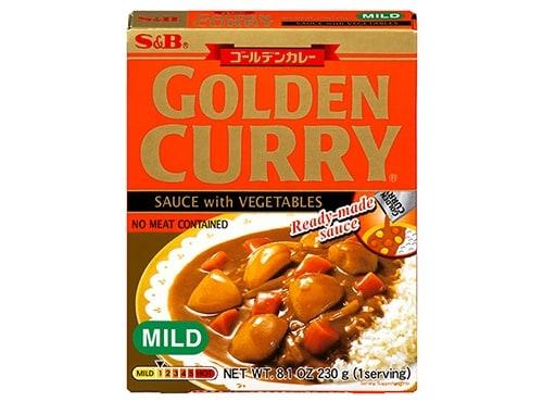 Golden Curry Sauce von S&B.