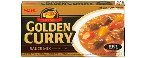 Golden Curry von S&B.