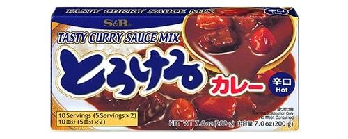 Torokeru Curry (oder auch Tasty Curry) von S&B.