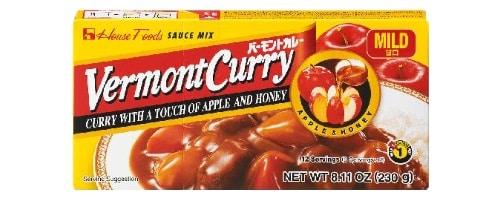 Vermont Curry von House Foods.