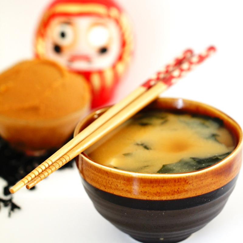 Miso-Suppe Fertig