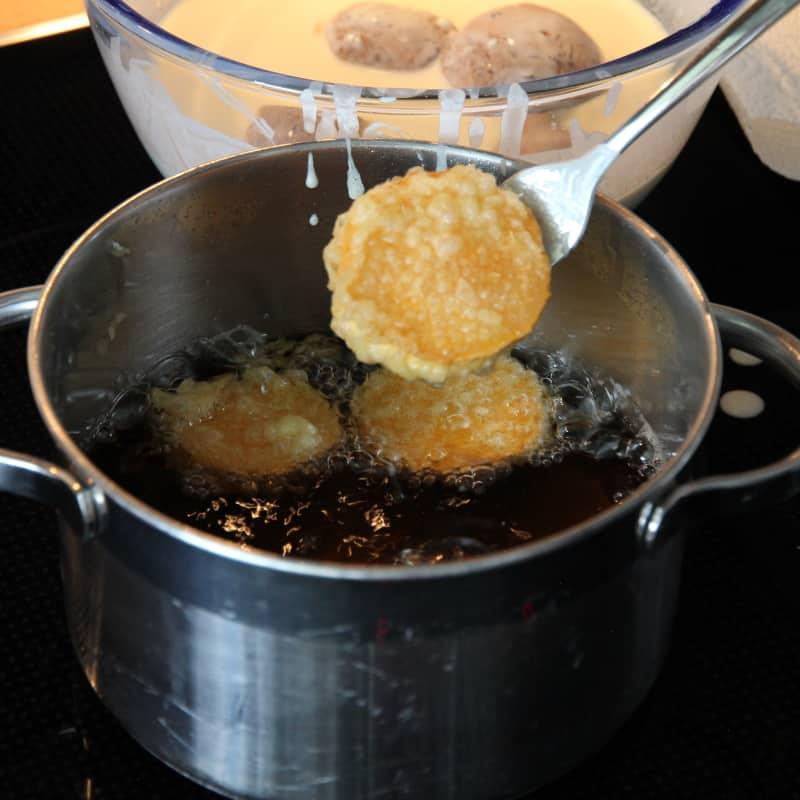 Rezept Tempura in Öl frittiert