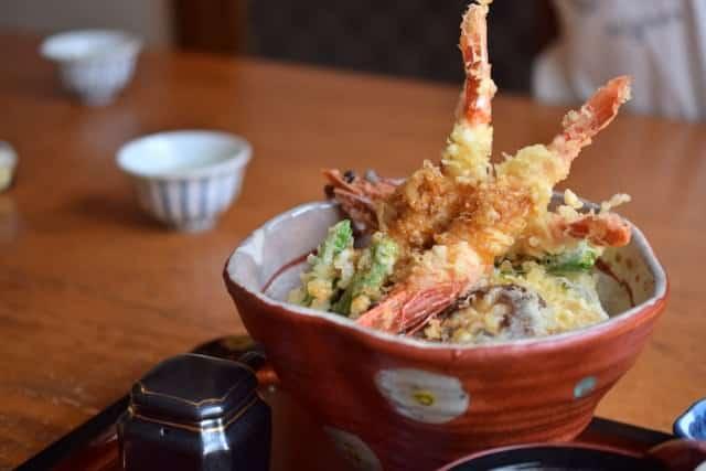 Donburi – Als Tendon schmeckt Tempura einfach am besten