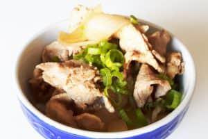 Gyudon mit Schweinebauch Titelbild