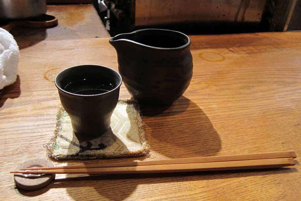 Auch andere Flaschenformen wie Katakuchi sind beliebt.