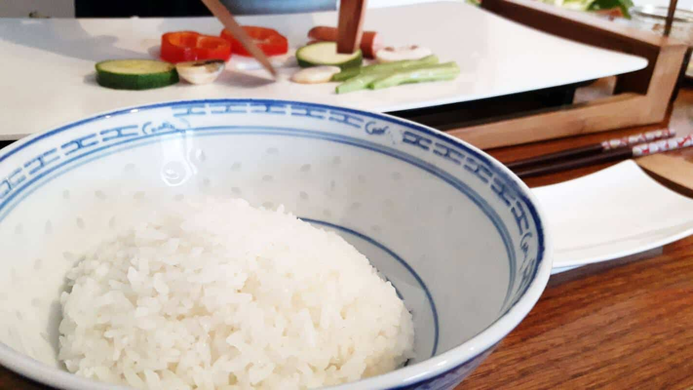 Gemüse vom Teppan Schritt 4 Servieren