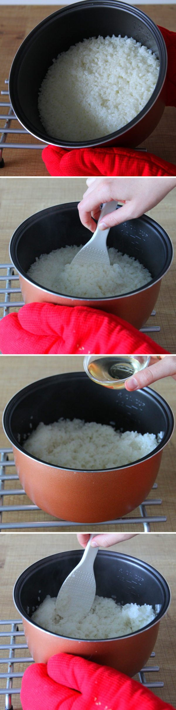 Reis kochen Schritt 10 Reis würzen