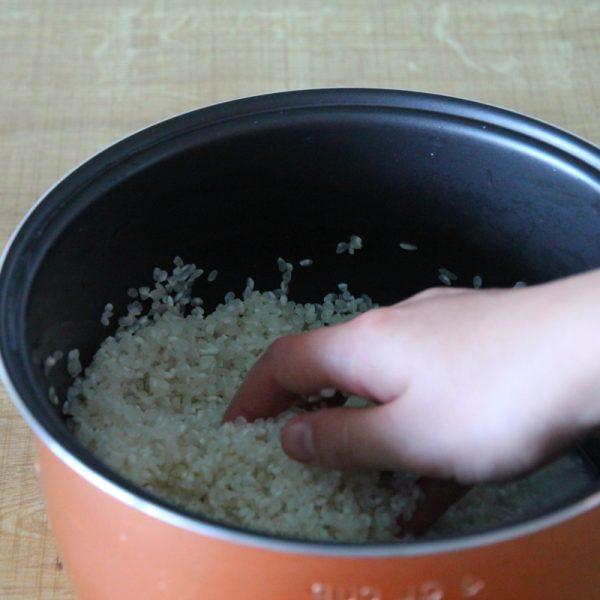 Reis kochen Schritt 3 Reis waschen