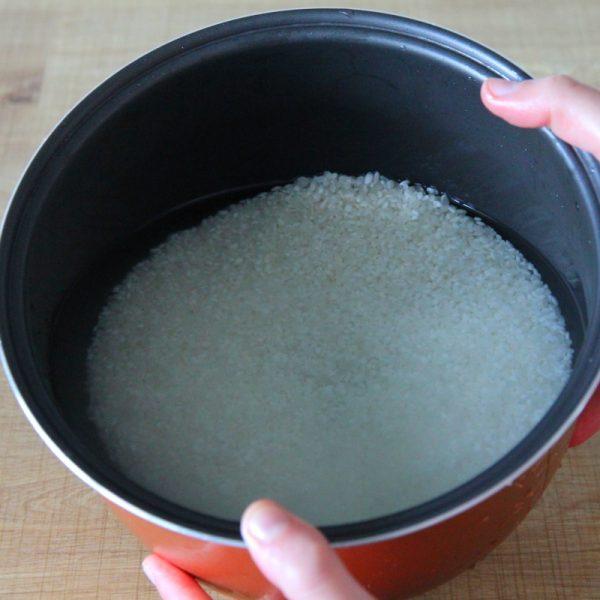 Reis kochen Schritt 5 Reis waschen