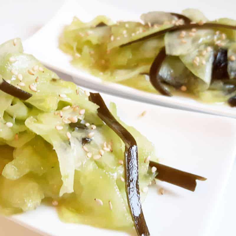 Sunomono – Japanischer Gurkensalat mit Wakame