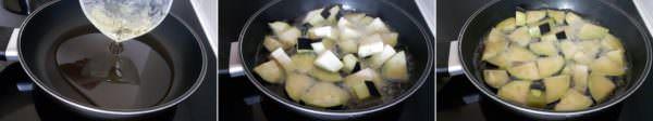 Frittierte Aubergine Schritt 6 Aubergine frittieren