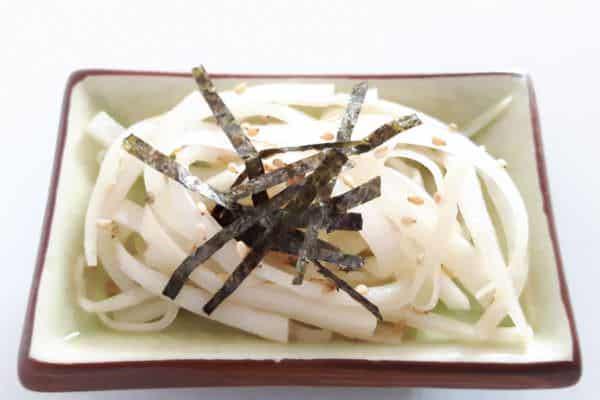 Daikon Sarada (Japanischer Rettichsalat)