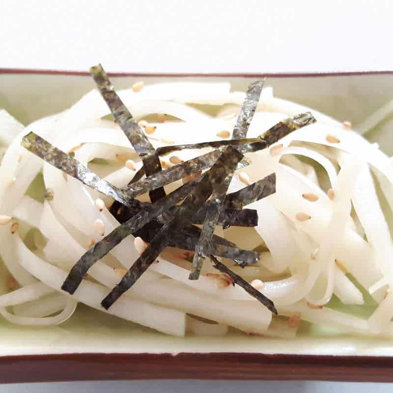 Daikon Sarada – Japanischer Rettichsalat
