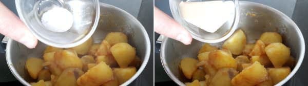 Kartoffeln mit süßem Soja-Butterdressing Schritt 6 Kartoffeln würzen.
