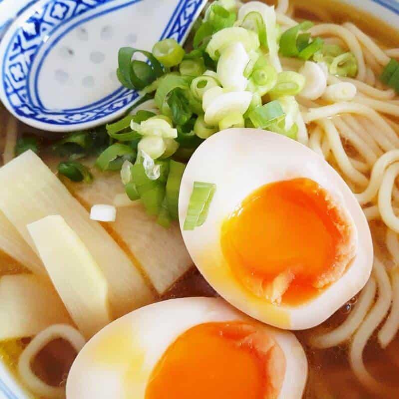 Vegetarische Shoyu Ramen [Your Name (Kimi no Na wa)]