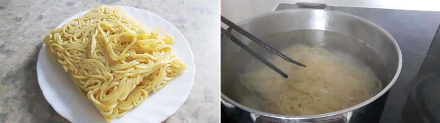 Vegetarische Shoyu Ramen Schritt 7 Ramen kochen