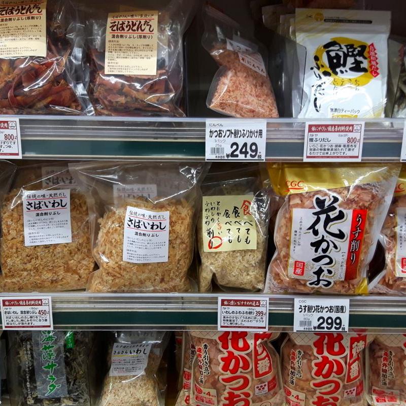 Katsuobushi im Ladengeschäft