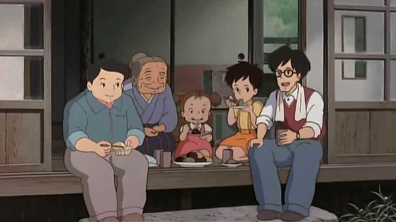Filmsequenz aus Mein Nachbar Totoro.
