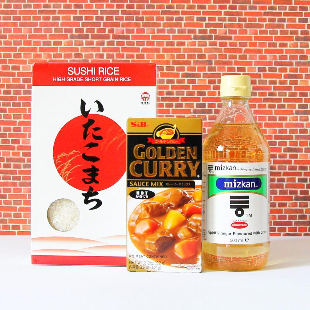 Kochset Japanisches Curry Hot