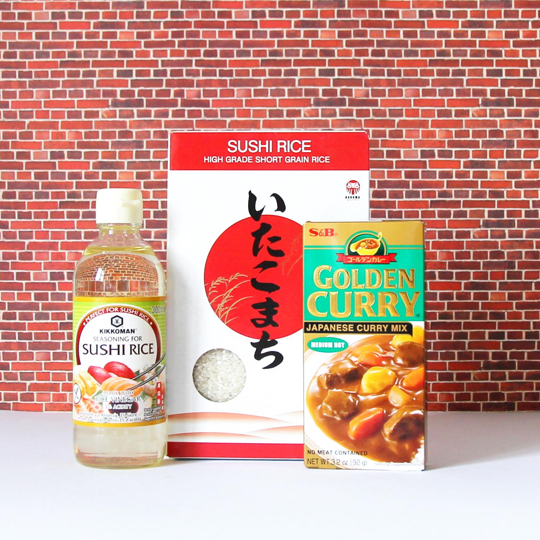Kochset japanisches Curry