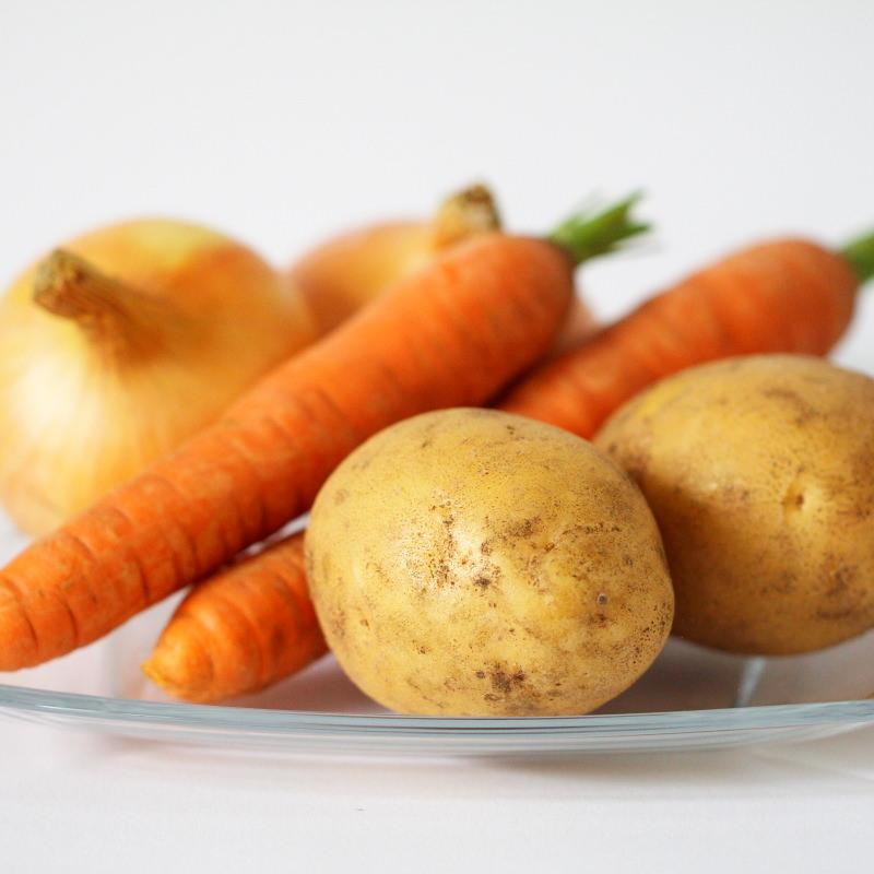 Japanisches Curry Gemüse für Curry