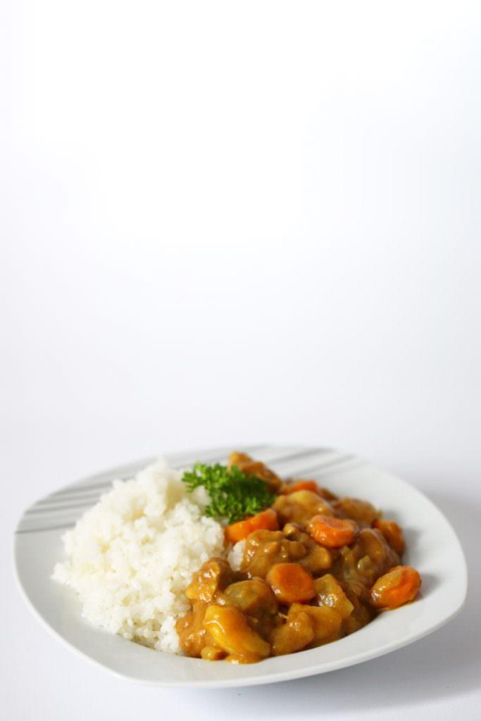 Japanisches Curry mit Reis