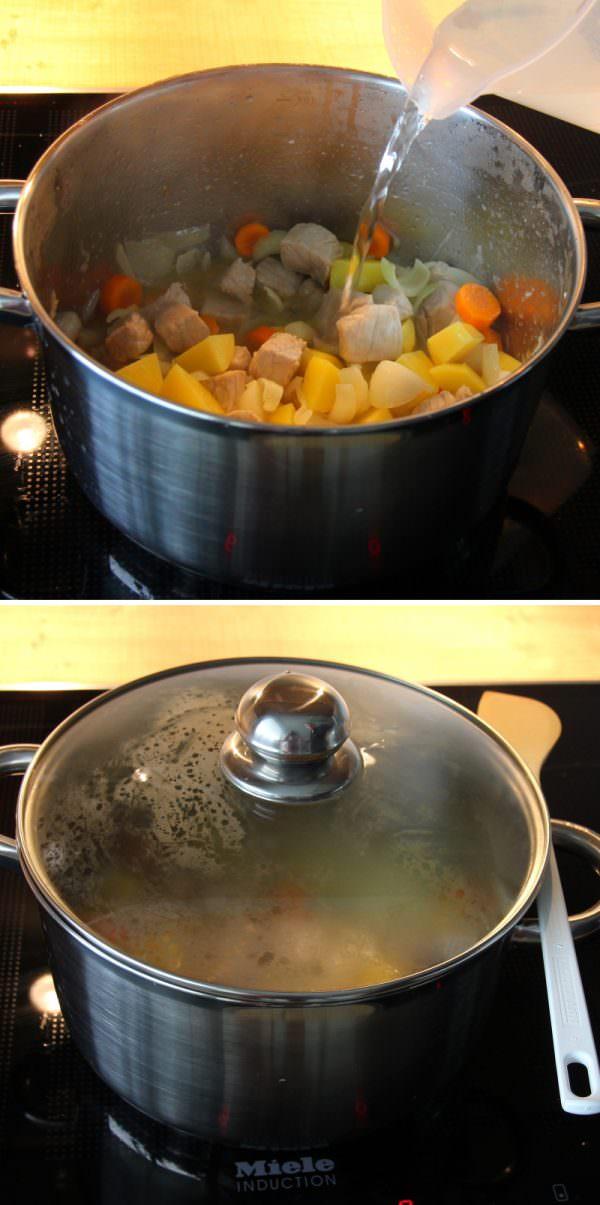 Kare Raisu Schritt 5 Gar kochen