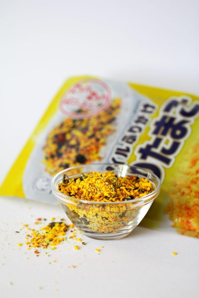Onigiri mit Furikake Sorte Tamago Ei