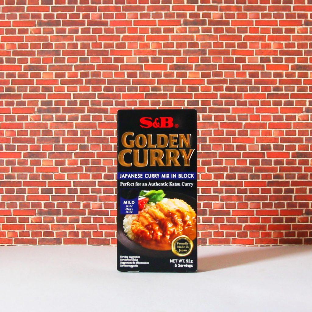 Golden Curry (mild) von S&B.
