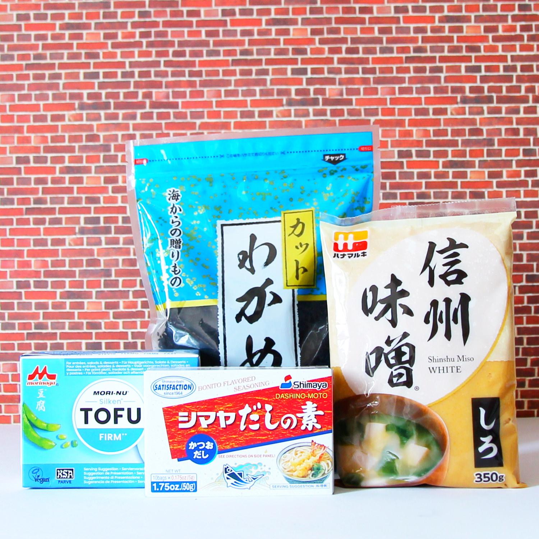 Kochset für Miso-Suppe