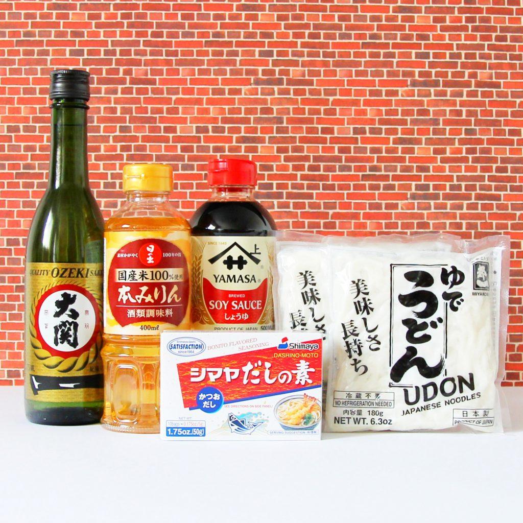 Kochset Udon Nudelsuppe
