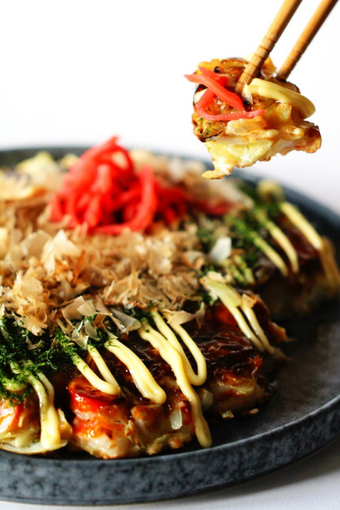 Okonomiyaki essen