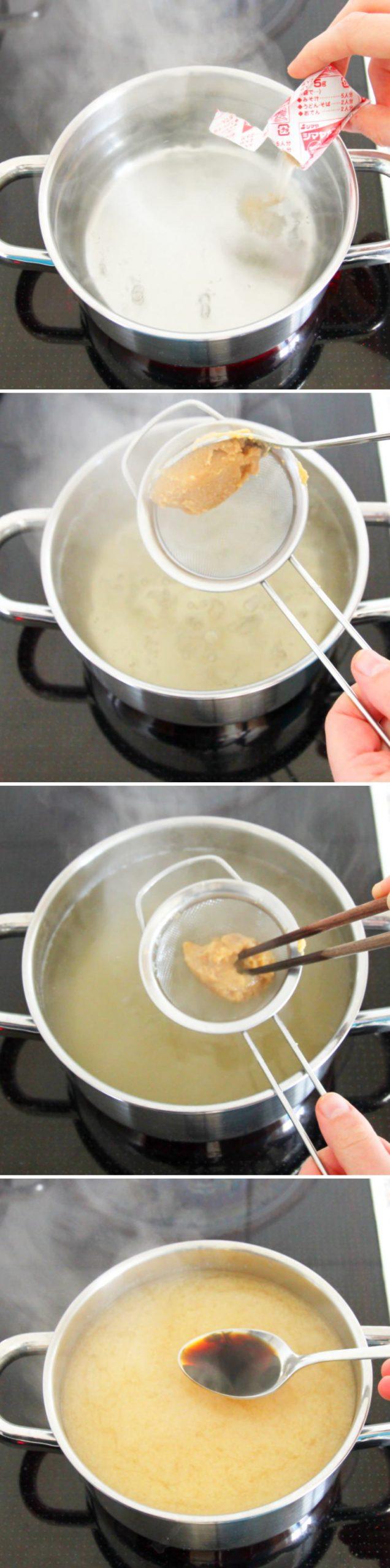 Miso Ramen Schritt 4 Brühe zubereiten