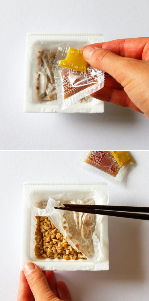 Nattodon Schritt 3 Packung öffnen