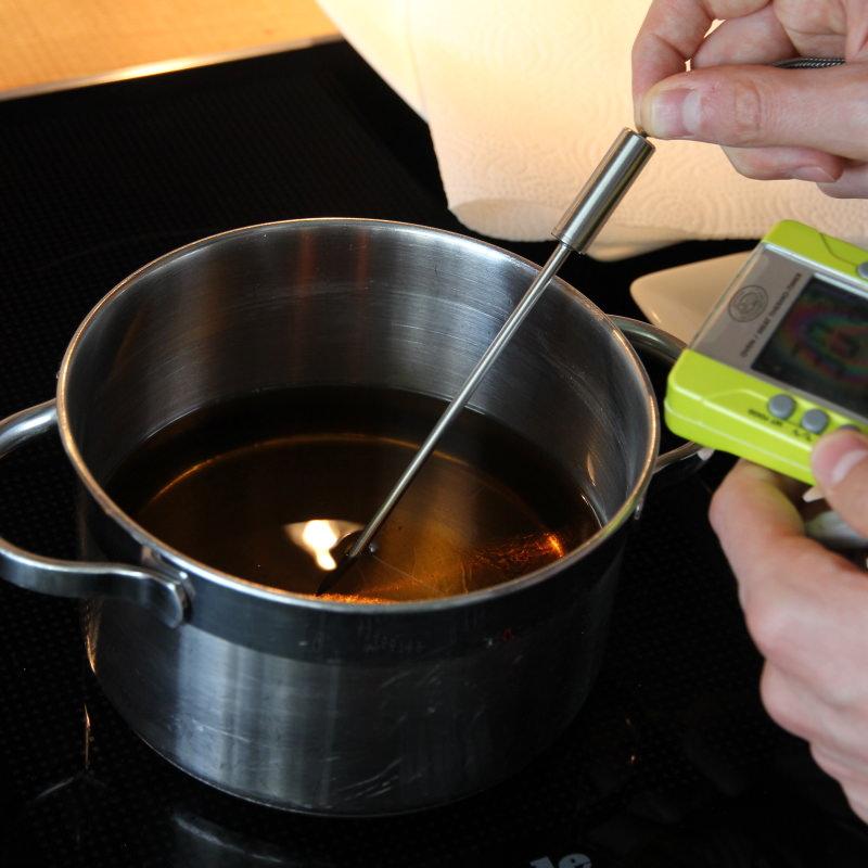 Tendon Schritt 4 Öl erhitzen