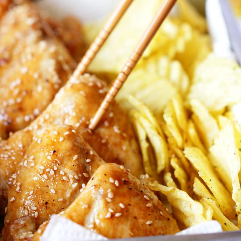 Teriyaki Chicken Wings Schritt 7 Fertig