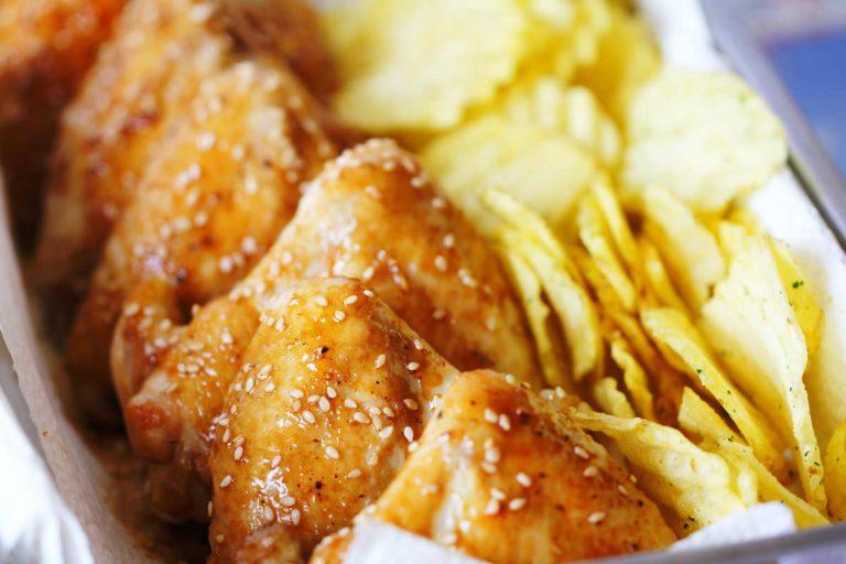 Teriyaki Chicken Wings Titelbild