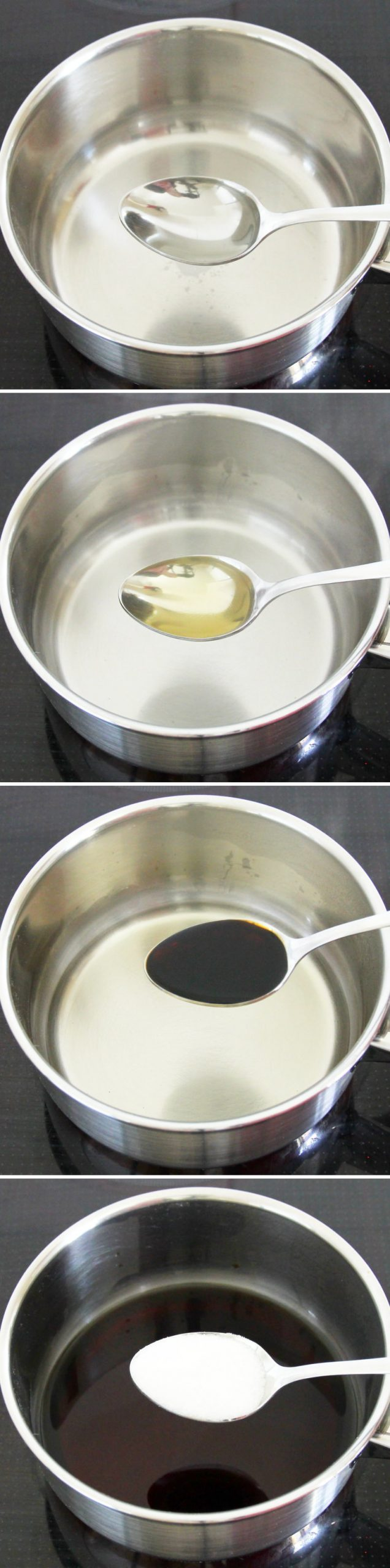 Teriyaki Sauce Schritt 2 Zutaten vermischen