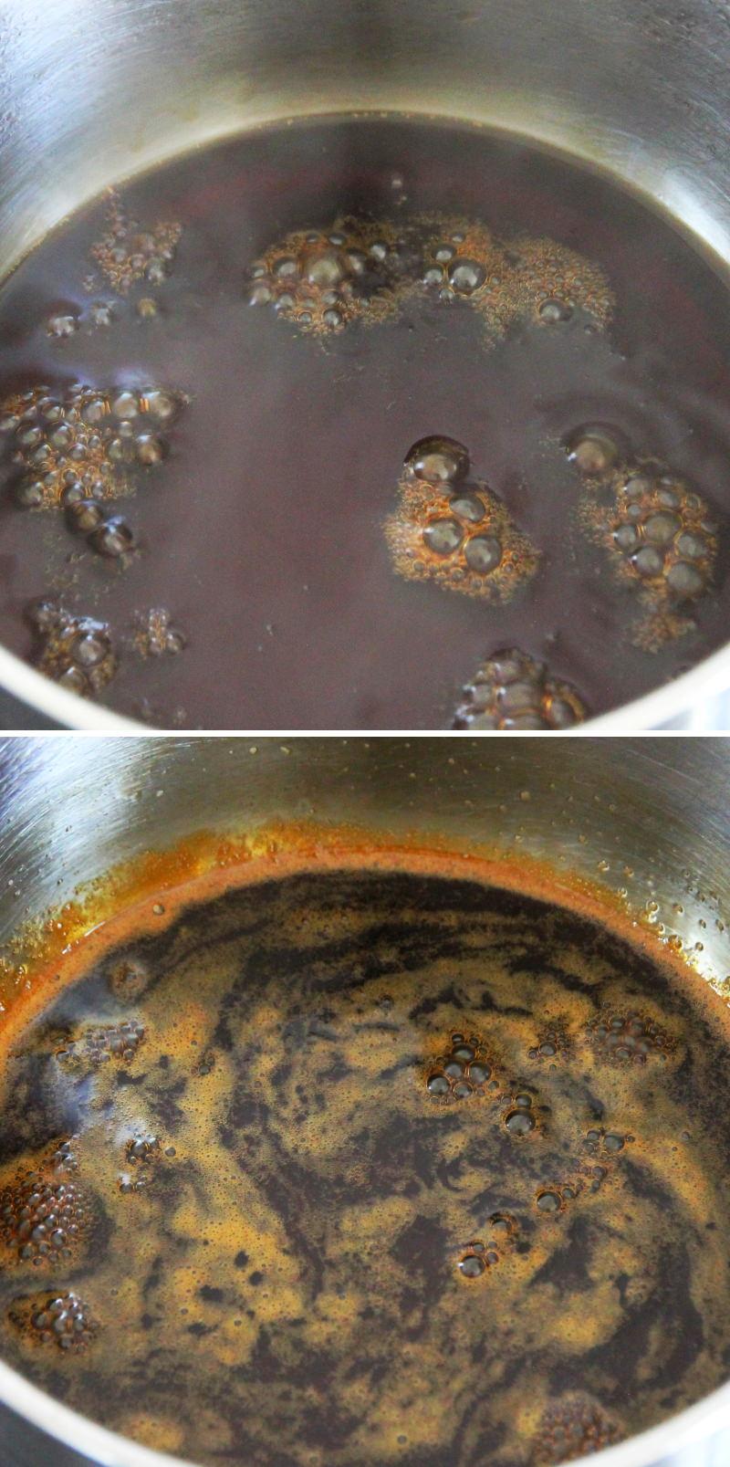 Teriyaki Sauce Schritt 3 Kochen