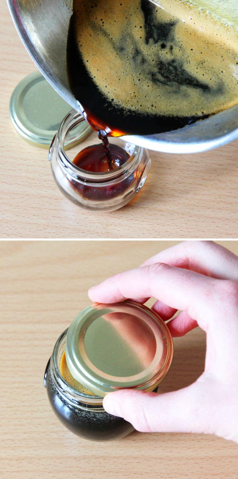 Teriyaki Sauce Schritt 4 Abfüllen