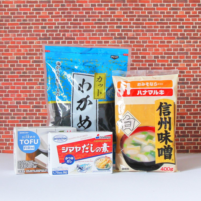 Kochset Miso-Suppe