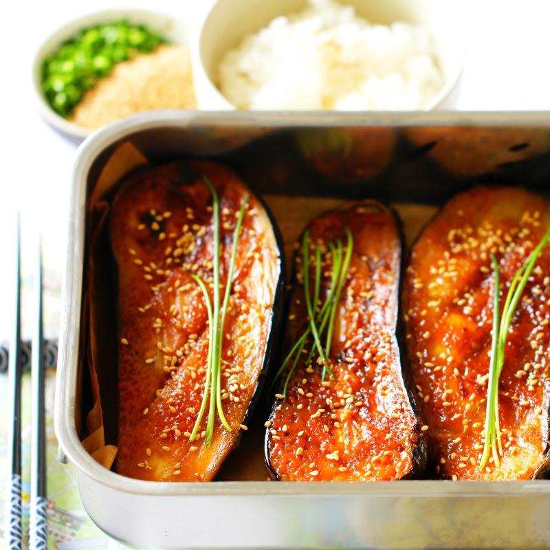 Nasu Dengaku mit Reis