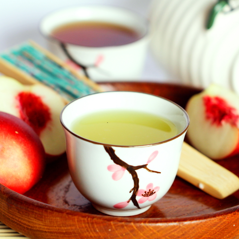 Grüner Tee Schritt 4 Fertig
