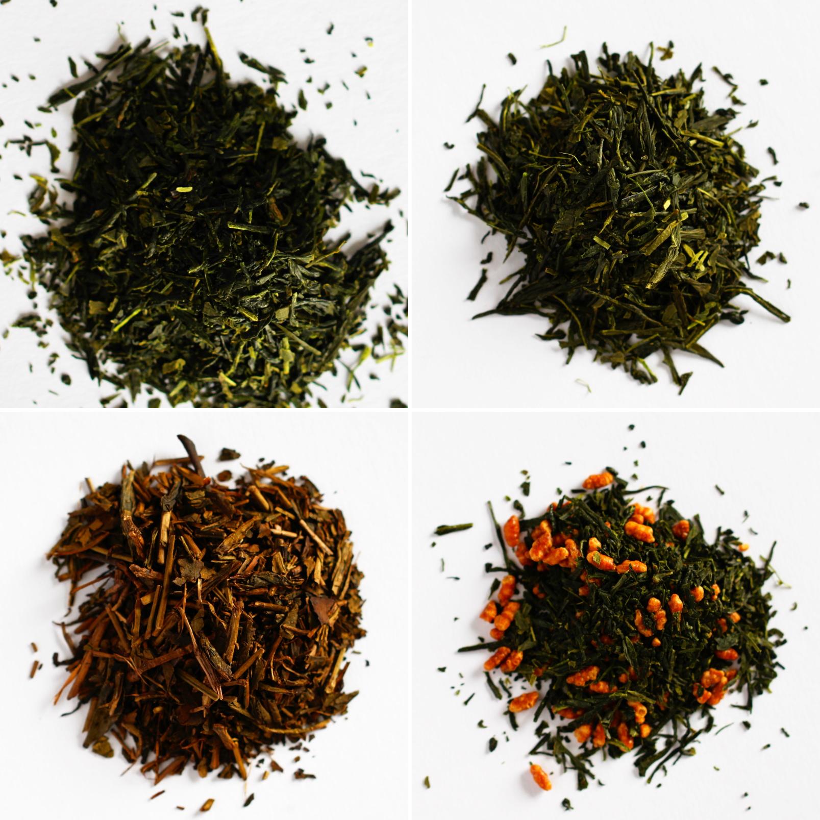 Japanischer Tee Sorten lose