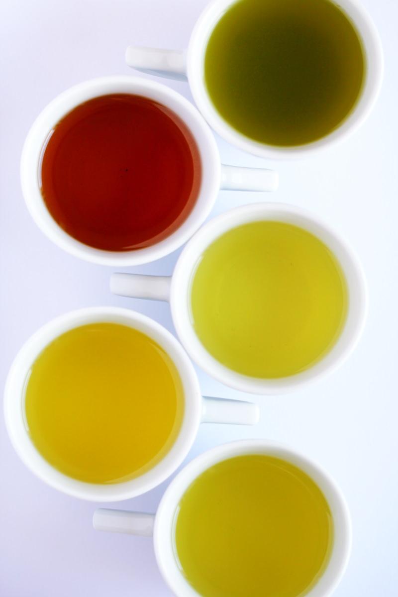 Japanischer Tee Sorten