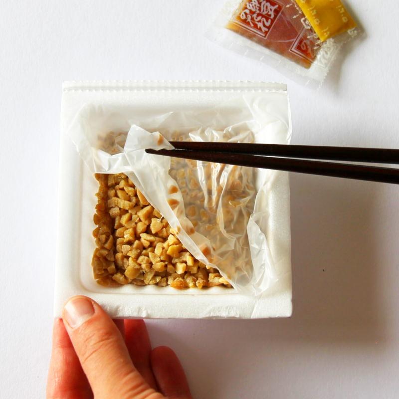 Natto Folie entfernen