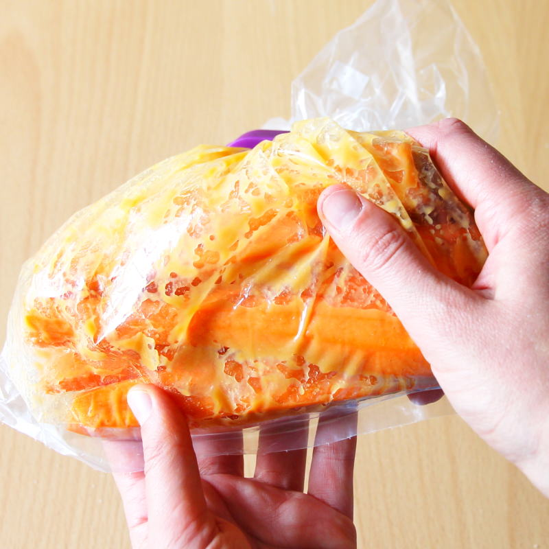 Misozuke Schritt 5 Karotten kühl stellen