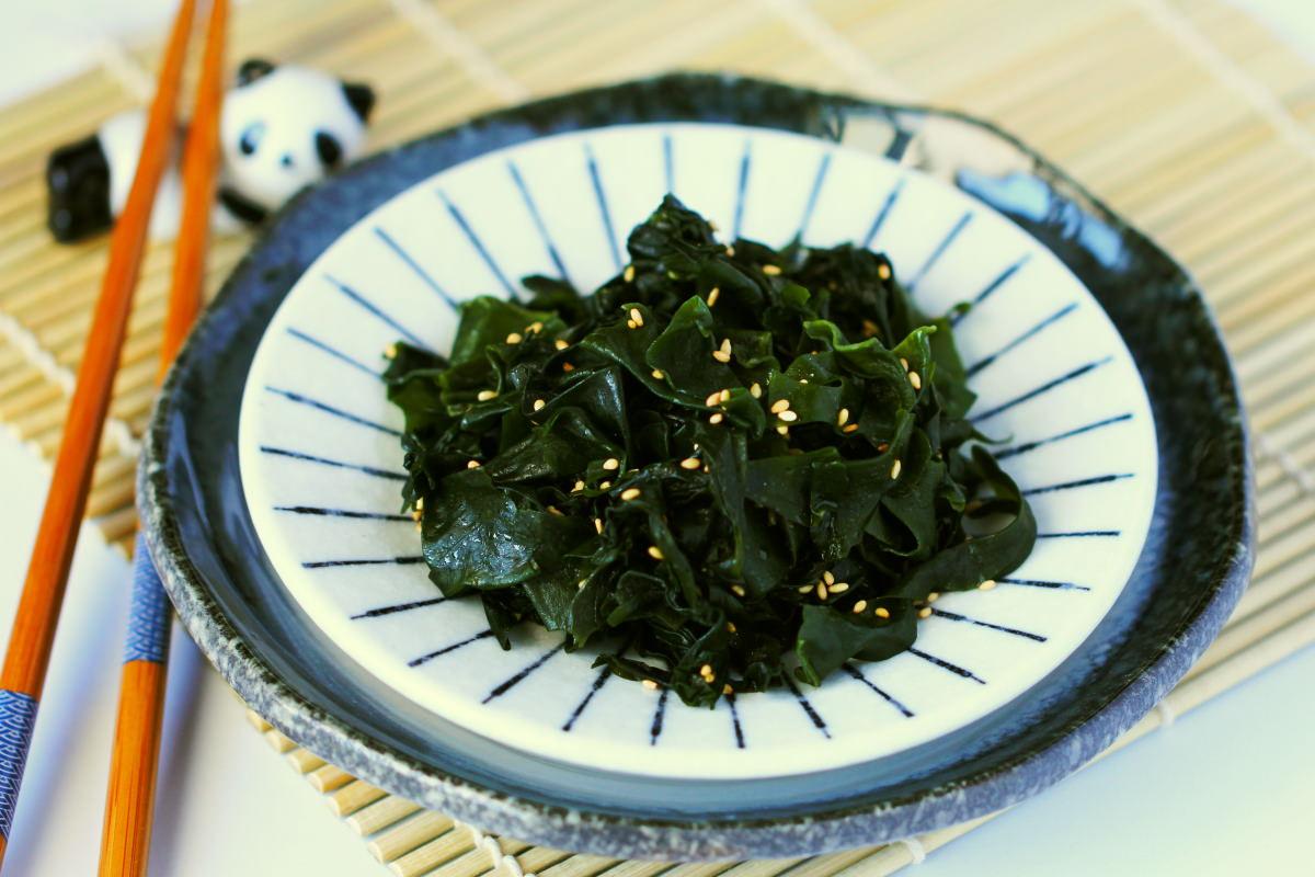 Goma Wakame Salat Titelbild