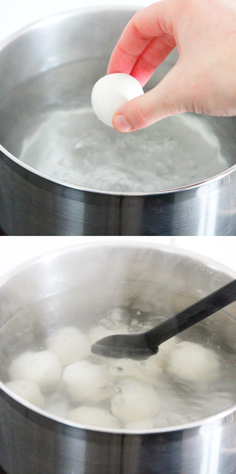Miratashi Dango Schritt 4 Kugeln kochen